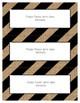 Word Wall Frames - Create Your Dream Room Decor - Burlap