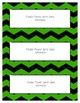 Word Wall Frames - Create Your Dream Room Decor - Green