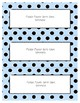 Word Wall Frames - Create Your Dream Room Decor - Pastel Blue