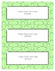 Word Wall Frames - Create Your Dream Room Decor - Pastel Green