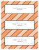 Word Wall Frames - Create Your Dream Room Decor - Pastel Orange