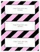 Word Wall Frames - Create Your Dream Room Decor - Pastel Pink