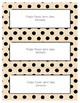Word Wall Frames - Create Your Dream Room Decor - Pastel Tan