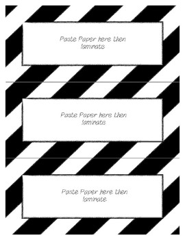 Word Wall Frames - Create Your Dream Room Decor - White or Use with Color Paper