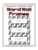 Word Wall Frames - Create Your Dream Room Decor - White or
