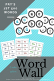 Word Wall: Fry's first 500 Words and Letter Headings (6 co