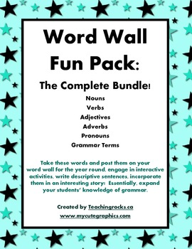Word Wall Fun Pack: The Complete Bundle!