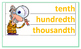 Word Wall GoMath Grade 4 Chapter 9