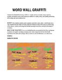 Word Wall Graffiti