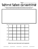 Word Wall Graphing