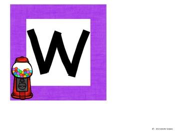 Word Wall: Gumball Theme