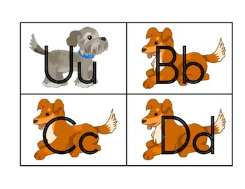 Daily 5 Word Work Word Wall Dog Theme