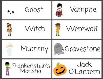 Word Wall Halloween