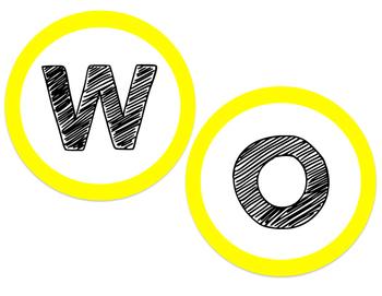 Word Wall Header