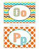 Letter Posters / Word Wall Posters in Candy Colors Theme