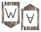 Word Wall Header Weathered Wood Theme