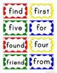 Word Wall Headers & 200 Words - Primary Polka Dot