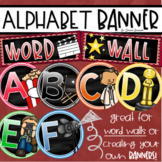Word Wall Headers Alphabet Banner Posters Signs Hollywood Movies Theme