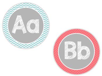 Word Wall Headers/ Alphabet Tiles Set 1