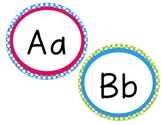 Word Wall Headers (Brights & Polka Dots)