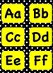 Word Wall Headers Busy Bee Theme