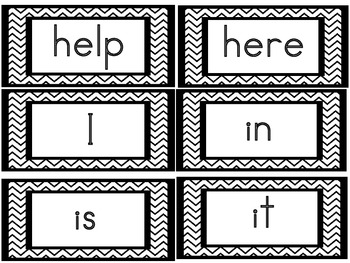 Word Wall Headers Letters & Numbers  &  Pre Primer Dolch Sight Words & Nouns
