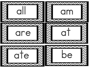 Word Wall Headers Letters & Numbers  &  Primer Dolch Sight Words & Nouns
