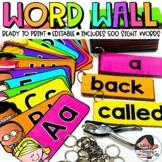Word Wall Headers | Classroom Decor
