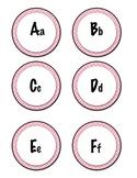 Word Wall Headers, Pink Polka Dots