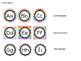 Word Wall Headers - Rainbow - Editable