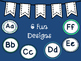 Word Wall Headers {Shades of Blue}