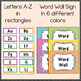 Word Wall Headers  {Stripes}