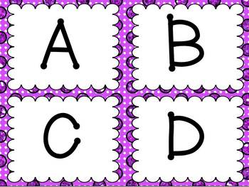 Word Wall Headers and 120 High Frequency Words ~ Grade 2