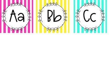 Word Wall Headers and Banner