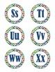 Word Wall Headers (colorful chevron)