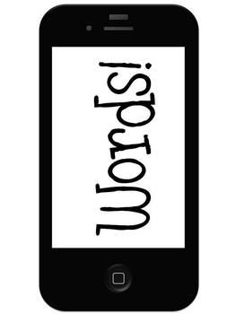 Word Wall Headers: iPod addition!