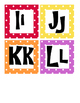 Word Wall Headings - letters of the alphabet