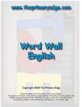 Word Wall/High Frequency