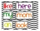 Word Wall - Pre Primer Color Coded Sight Words with Alphabet Letter Headings