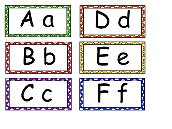 Word Wall High-Frequency Word Cards