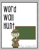 Word Wall Hunt