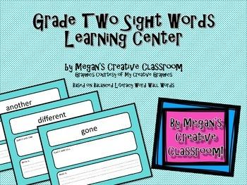 FREE Word Wall Interactive Printable - Grade Two Balanced Literacy
