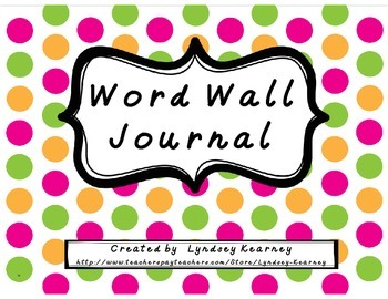 Word Wall Journal