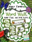 Word Wall - Jungle/Rainforest themed