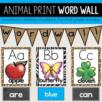 Word Wall Pack: Jungle
