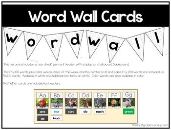 Word Wall Farmhouse Classroom Decor