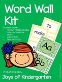 Word Wall Kit- Green and Yellow Dots