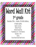 Word Wall Kit - First Grade