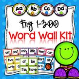 Word Wall Kit - Fry Words 1-300 {Editable}