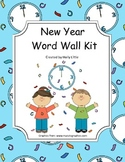 Word Wall Kit - New Year Words